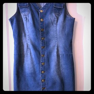 Dresses & Skirts - Blue Jean dress size 14.